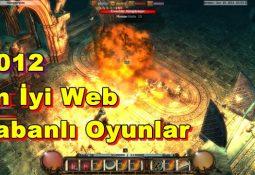 2012 Türkçe Web tabanlı Online Oyunlar